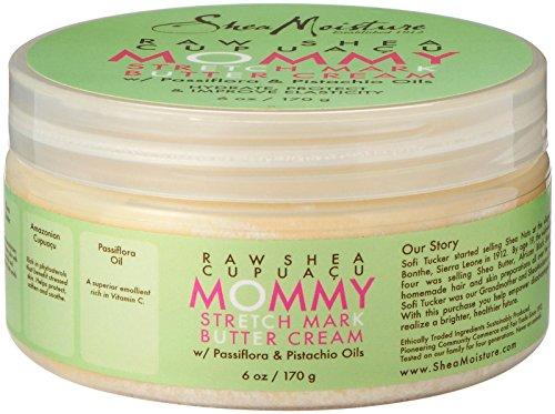 Shea Moisture Mommy & Me Pre/Post Natal Stretch Mark Body Butter, 6 Ounce