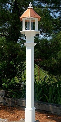 BestNest Deluxe Azalea Bird Feeder & Decorative Mounting Post Package