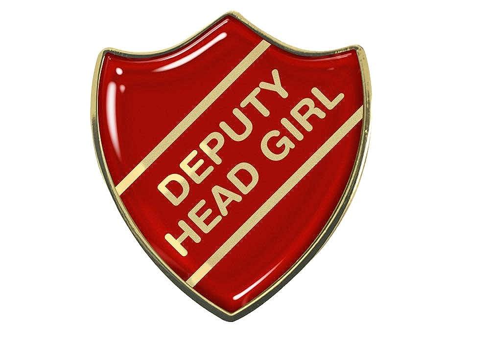 Deputy Head Girl School Shield Badge