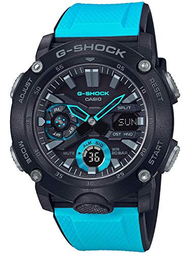 Men's Casio G-Shock Carbon Core Guard Blue Resin Band for sale  Delivered anywhere in USA