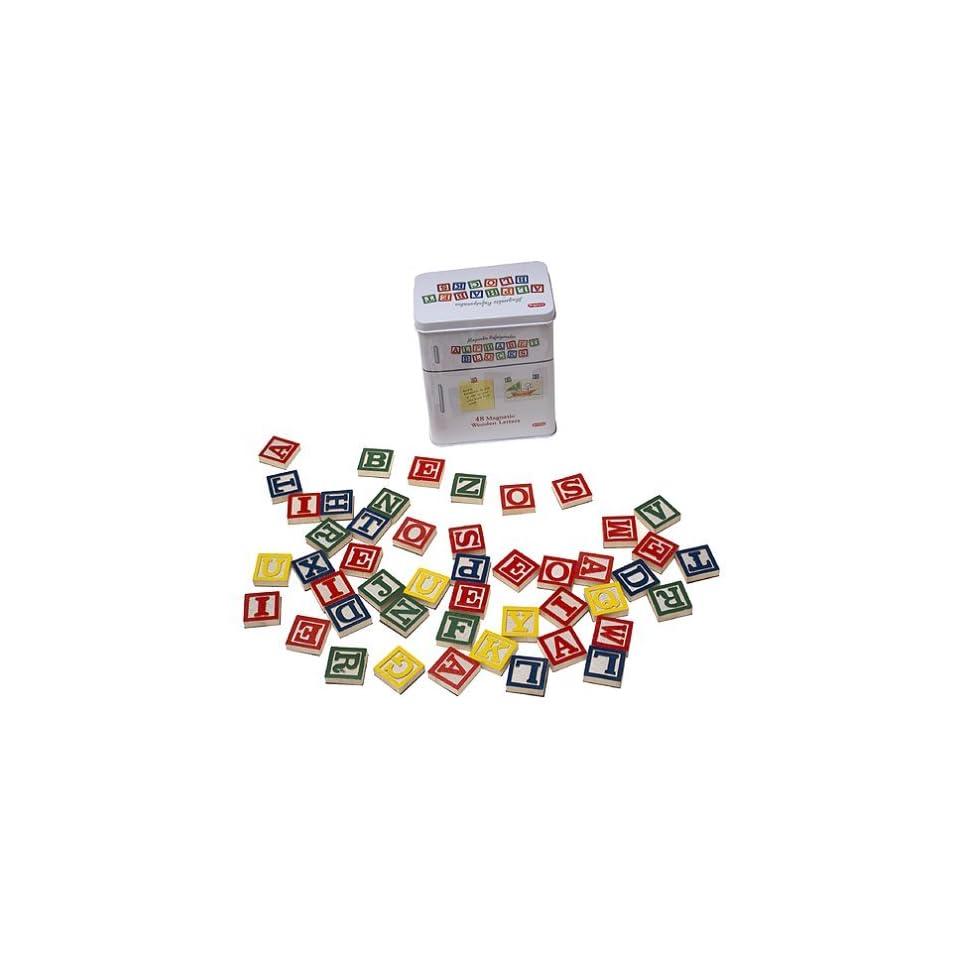Magnetic Refrigerator Alphabet Blocks