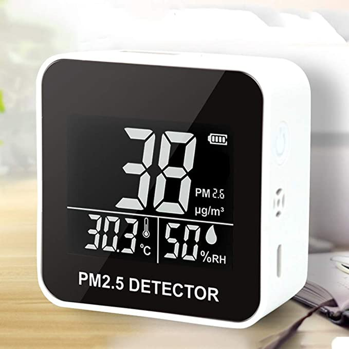Monitor de Calidad del Aire, Micro USB de Carga Purificador de ...