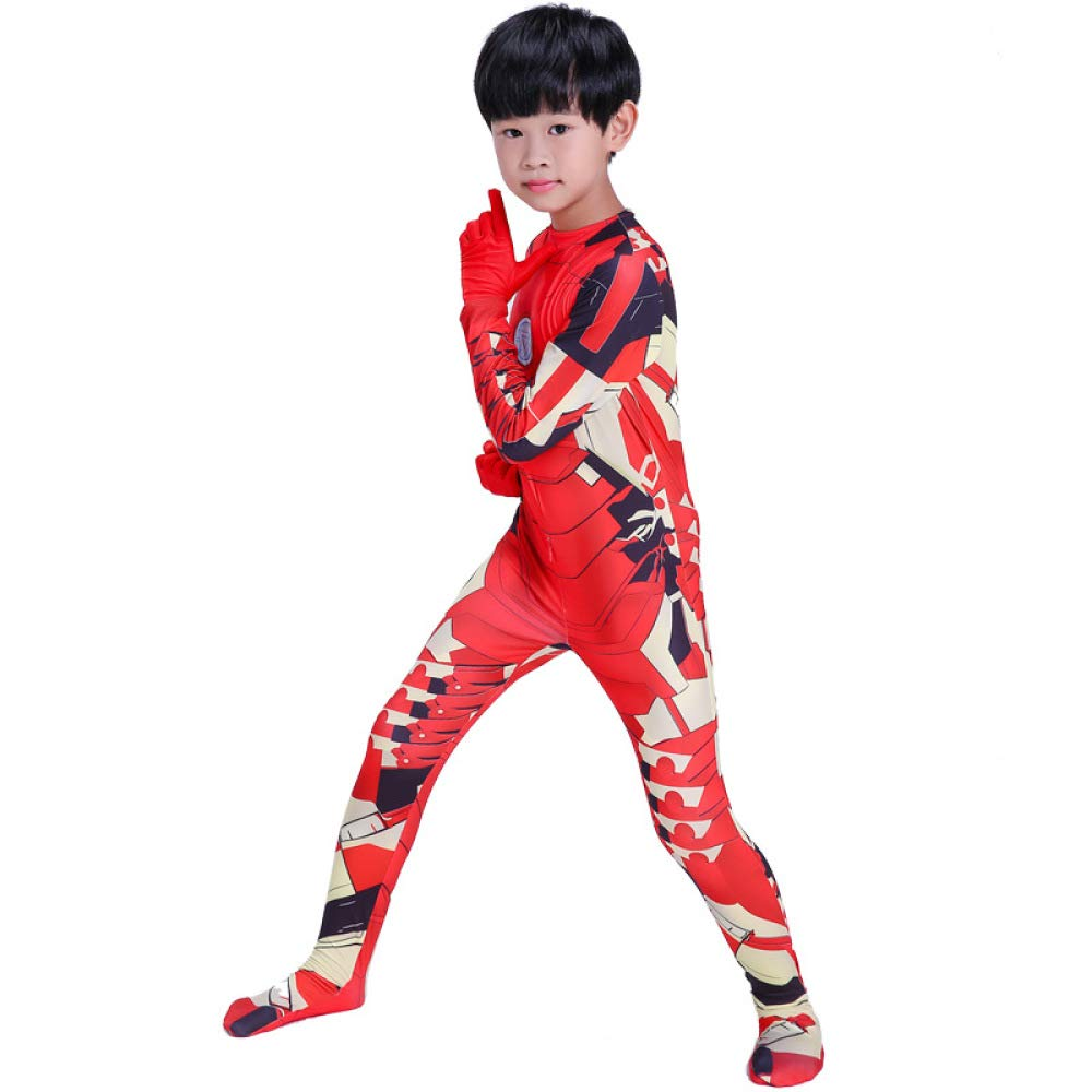 QXMEI Halloween Iron Man Siamese Enge Cosplay Kostüm Kind Erwachsene Anime Game Kostüm Show,Adult-XL B07NZTC59Y Kostüme für Erwachsene Einzigartig  | Spaß