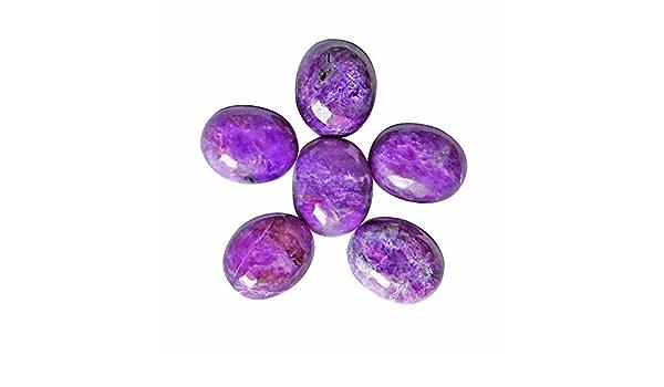 Wholesale Price Jewellery Making Pendant Stone 100/% Natural Sugilite Cabochon Loose Gemstone 17459 Designer Sugilite Size 25x15x4 MM