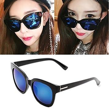 nueva ronda gafas de sol colores, mujer cara redonda, ojos ...