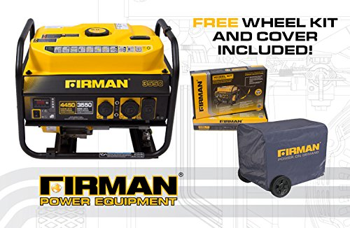 FIRMAN Power P03501 Performance Series Generator 3550 Watts Standard