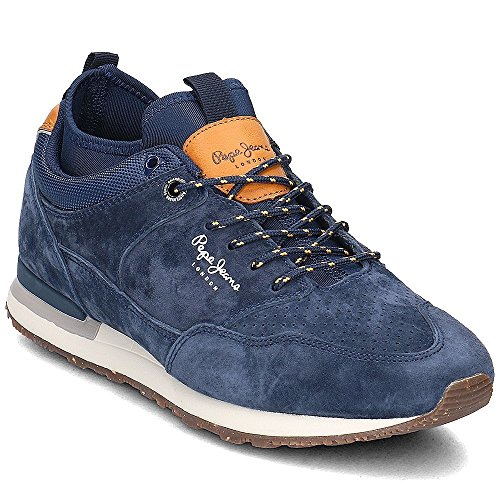 PEPE JEANS FOOTWEAR MS30383 boston blu 585 Taglia 41