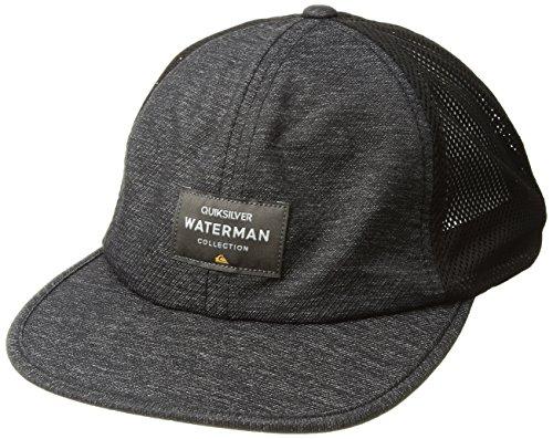 Quiksilver Waterman Men's Surf Runner Hat, Black, One (Hawaii Runner)