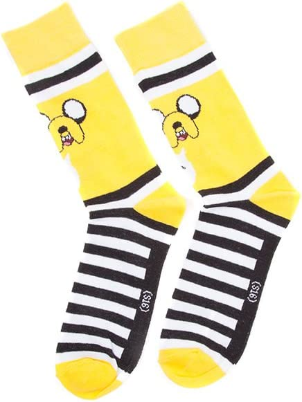Adventure Time - Finn Crew Socks gelb 43/46 [Importación alemana]