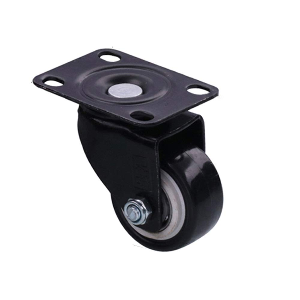 JUFU Moving Tool Furniture Mover 1.5 inch Caster Small Silent Caster Furniture Mover Cabinet Vientiane Pulley Refrigerator Shelf Wheel @@