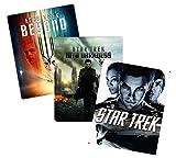 Star Trek Trilogy Blu-ray Steelbook Collection: Star Trek (2009) / Star Trek: Into Darkness / Star Trek: Beyond [Films XI, XI, XII / 11, 12, 13] [Bluray Steel Book / Metal Pack]