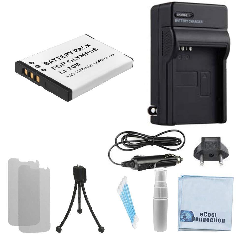 LI-70B Batería recargable para Olympus cámaras réflex digitales y ...