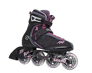 K2 Damen Fitness Inline Skate Zoe 80, schwarz, 10.5, 3050792.1.1.105