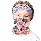 meakeize Girls Hiking Mask Bandanas Face Rave