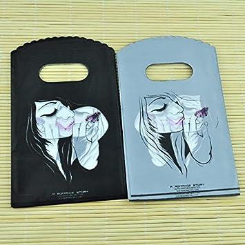 Amazon.com: BATOP Black Girl Print Small Plastic Bag Jewelry ...