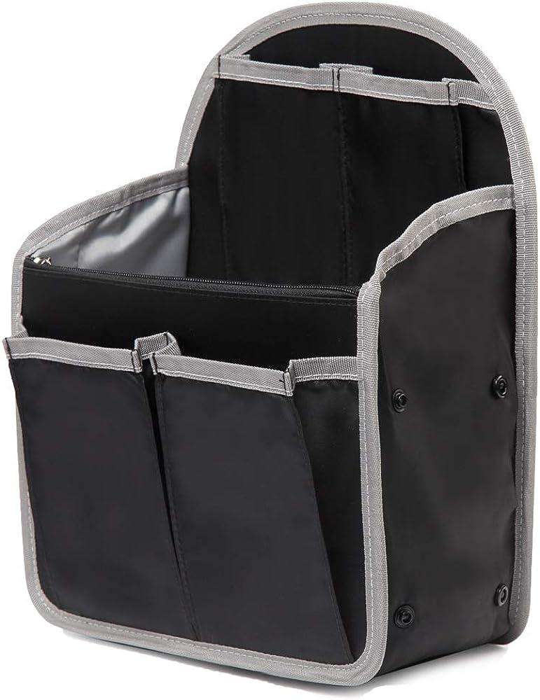 PAOIXEEL Lightweight Backpack Insert Organizer, Nylon Rucksack