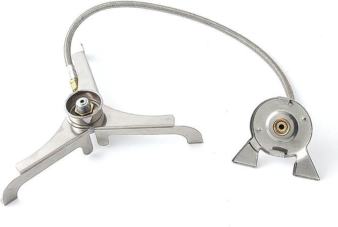 BRS-17 - Conector de lámpara de gas para camping al aire ...