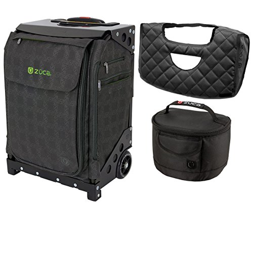 ZUCA Flyer Dublin Special Edition/Black Frame Bundle with Gift matching Lunchbox and Flyer Seat Cushion by ZUCA