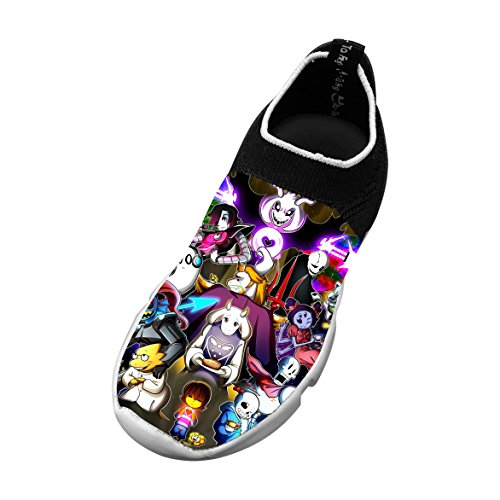 Undertale-e Sans Sports Shoes Children Lightweight Sneakers for Boys Girls