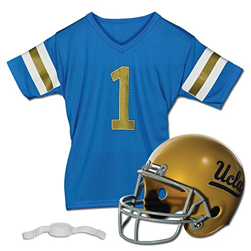 (Franklin Sports NCAA UCLA Bruins Youth Helmet and Jersey Set)