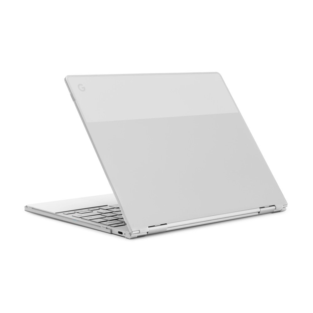 """mCover Hard Shell Case for 12.3"""" Google Pixelbook Chromebook (NOT Compatible Older Model Released Before 2017) laptops (Clear)"""