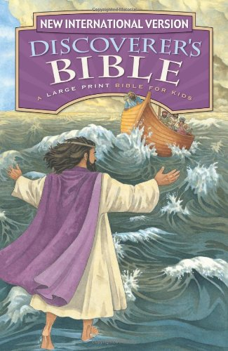NIV, Discoverer's Bible: Revised Edition, Large Print, Hardcover