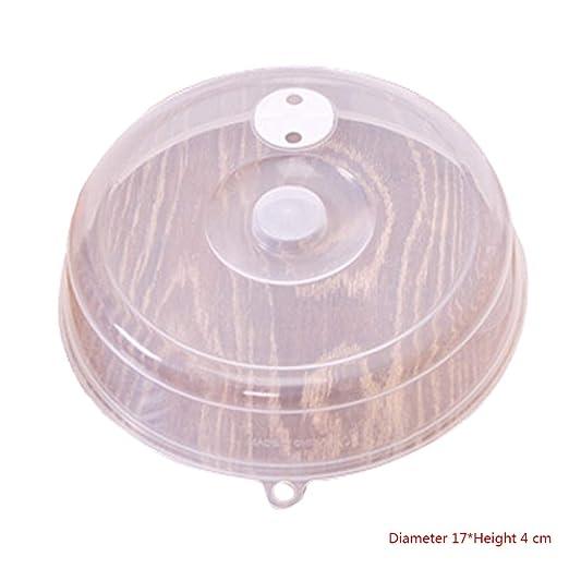 Hotaluyt - Tapa antisalpicaduras para microondas con Rejilla de ...