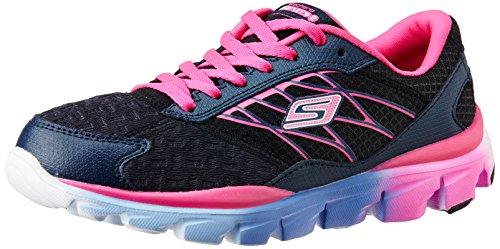 Skechers Kids Go Run Ride 2 Athletic Shoe (Little Kid/Big Kid),Navy/Pink,11.5 M US Little Kid