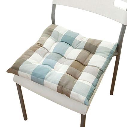 Amazon.com: HJYZD - Cojín acolchado para silla de oficina, 4 ...