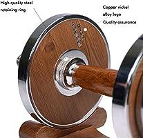 PROIRON Mancuernas ajustables 20kg con mancuernas de acero y nuez ...