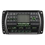 Solar energy Street light Controller - SODIAL(R)30A 12V / 24V PWM LCD Charge Controller Solar Panel Regulator Controller