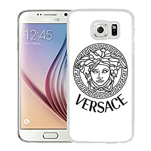 New Unique Custom Designed Case With VERSACE 000 White For Samsung Galaxy S6 Phone Case