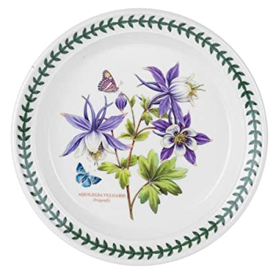 Portmeirion Exotic Botanic Garden Salad Plate with Dragonfly Motif