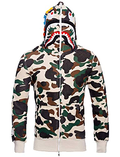 (Christo Mens Hoodies Sweatshirt Fashion Outdoor Tracksuit Casual Hip-Hop Funny Coat)