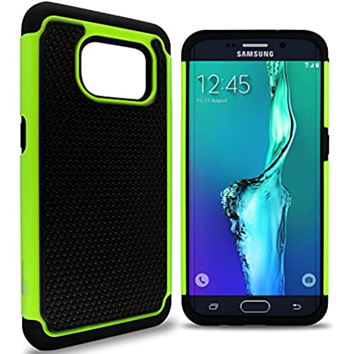 Galaxy S7 Edge Case, CoverON [HexaGuard Series] Shock Absorbing Two Layer Hybrid Protective Armor Cover Phone Sales