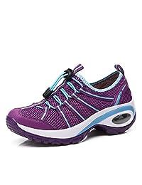 3d1051ff0b3ad Suetar Calzado Deportivo de Malla de Moda para Mujer Zapatillas  Transpirables de Verano Zapatos de Trekking