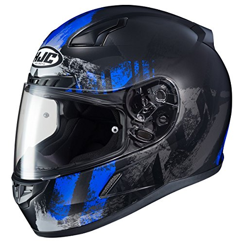 HJC Helmets CL-17 Helmet - Arica (LARGE) (BLACK/BLUE)