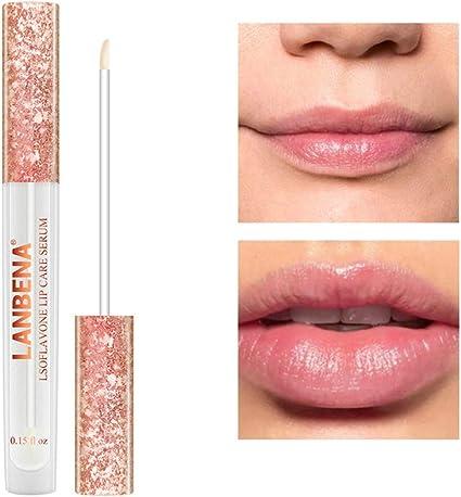 Hilai 1 UNID Lips Care Serum Hidratante Natural Lip Essence Lip Care Essence Brillo labial Lip Plumper Lip Serum Lip Care Poderoso Relleno Serum Lip ...