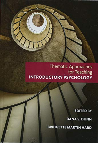 Thematic Approaches for Teaching Introductory Psychology