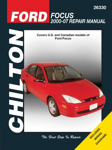 Ford Focus 2000 2007 Chiltons Total Car Care Repair Manuals