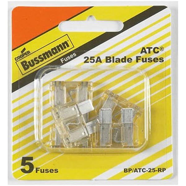 Bussmann Division BP//ATM-25-RP Atm-25 Auto Fuse