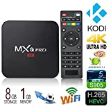 Vokul® Android 5.1 TV BOX MXQ Pro Streaming Media Player DDR3 1G Mini PC and Game play station Amlogic S905 4K Quad-core Set Top Box 64-bit Kodi Fully Loaded TV like Computer