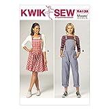 KWIK-SEW PATTERNS K4138 Misses' Jumper & Jumpsuit, All Sizes (X-Small-X-Large)