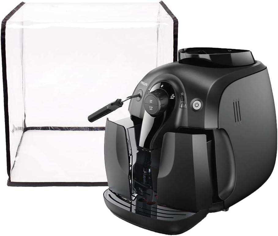 Funda para cafetera de 14.5 pulgadas de ancho x 15 pulgadas de profundidad x 14.5 pulgadas de alto, cubierta impermeable para polvo para cafetera eléctrica, cubierta universal para electrodomésticos: Amazon.es: Hogar