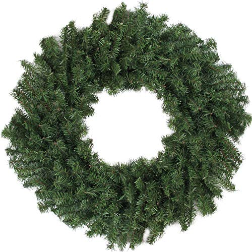 "Northlight 24"" Canadian Pine Artificial Christmas Wreath - Unlit"