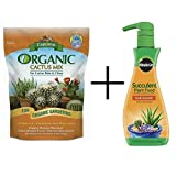 buy Espoma CA4 4-Quart Organic Cactus Mix and Miracle-Gro Liquid Succulent Plant Food, 8 Ounce now, new 2018-2017 bestseller, review and Photo, best price