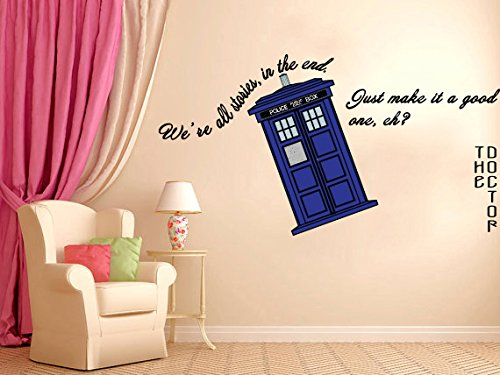 We Are All Stories - Doctor Who Life Inspirational quote
