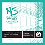 D'Addario NS Electric Traditional Bass Single G String, 3/4 Scale, Medium Tension