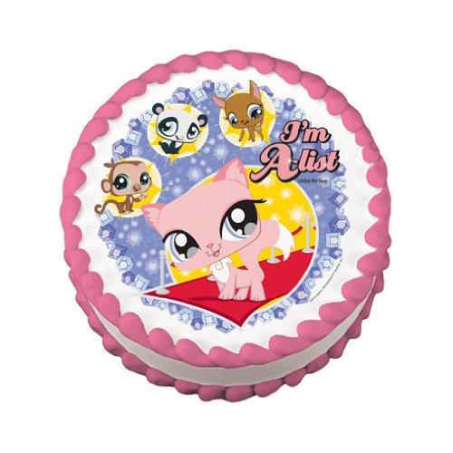 Littlest Pet Shop A-list Edible Cake Topper Image (Littlest Pet Shop Cake)