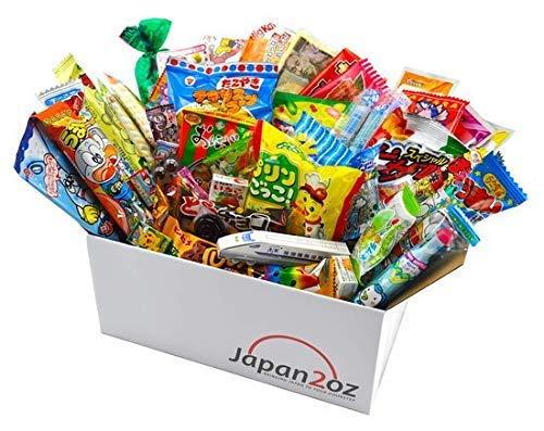 Japanese Candy Set Dagashi & Snacks Assortment 50 Pieces -